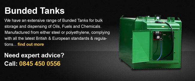 Bunded tanks