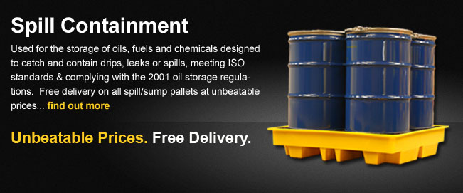 Oil and chemical spill containment