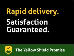 Rapid delivery. Satisfaction Guaranteed.