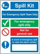Spill & Safety Signs