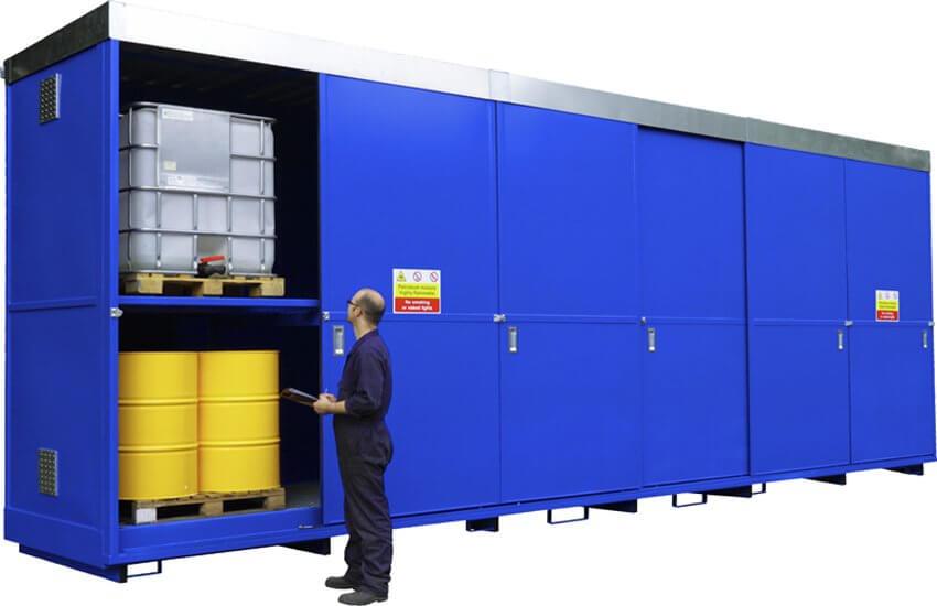 12 x IBC Dual Purpose Storage Unit