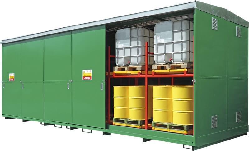 24 x IBC Dual Purspode Storage Unit