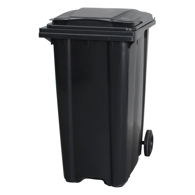 360 Litre Dark Grey Wheelie Bin