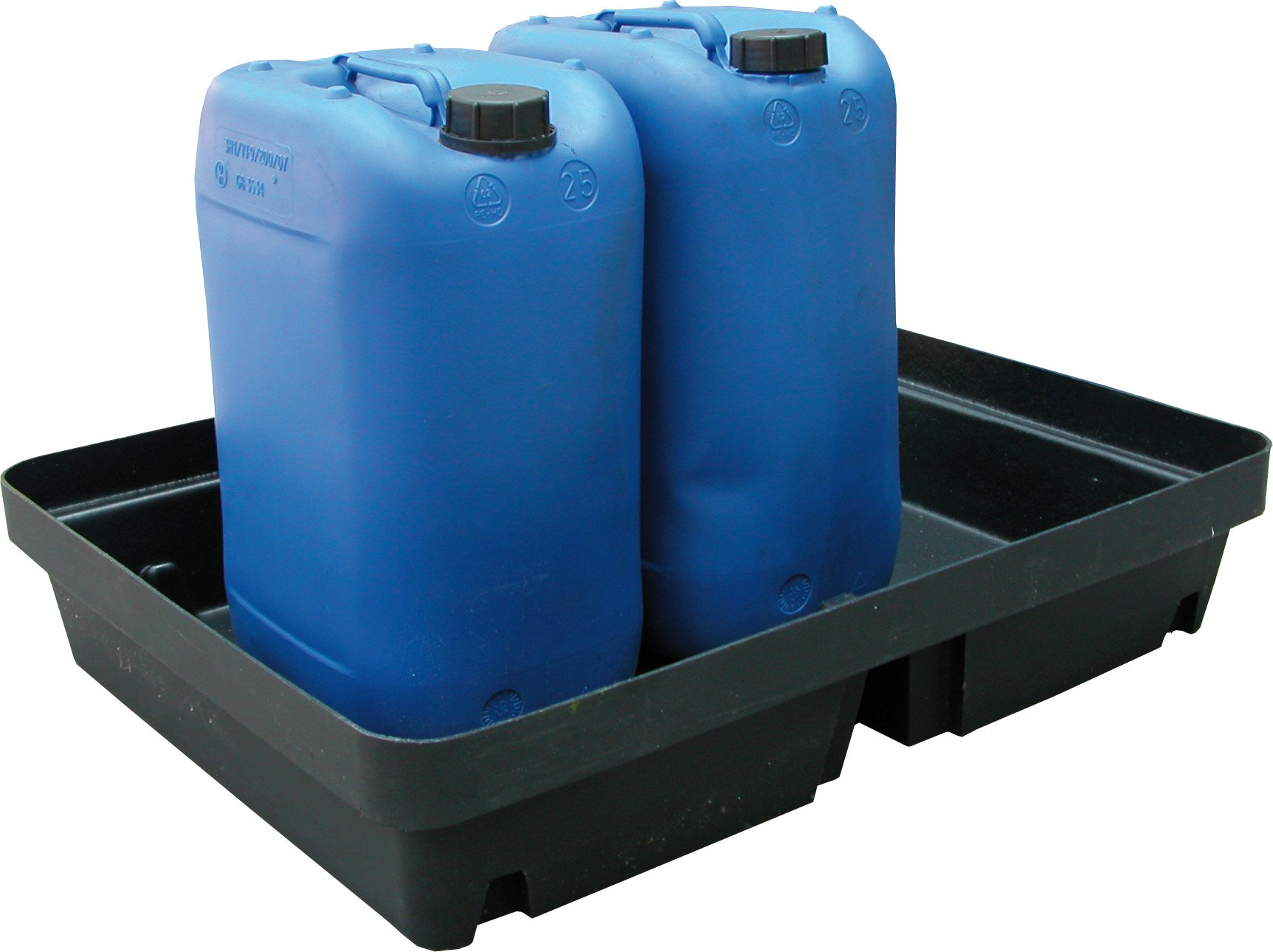 40L Spill Tray In Use