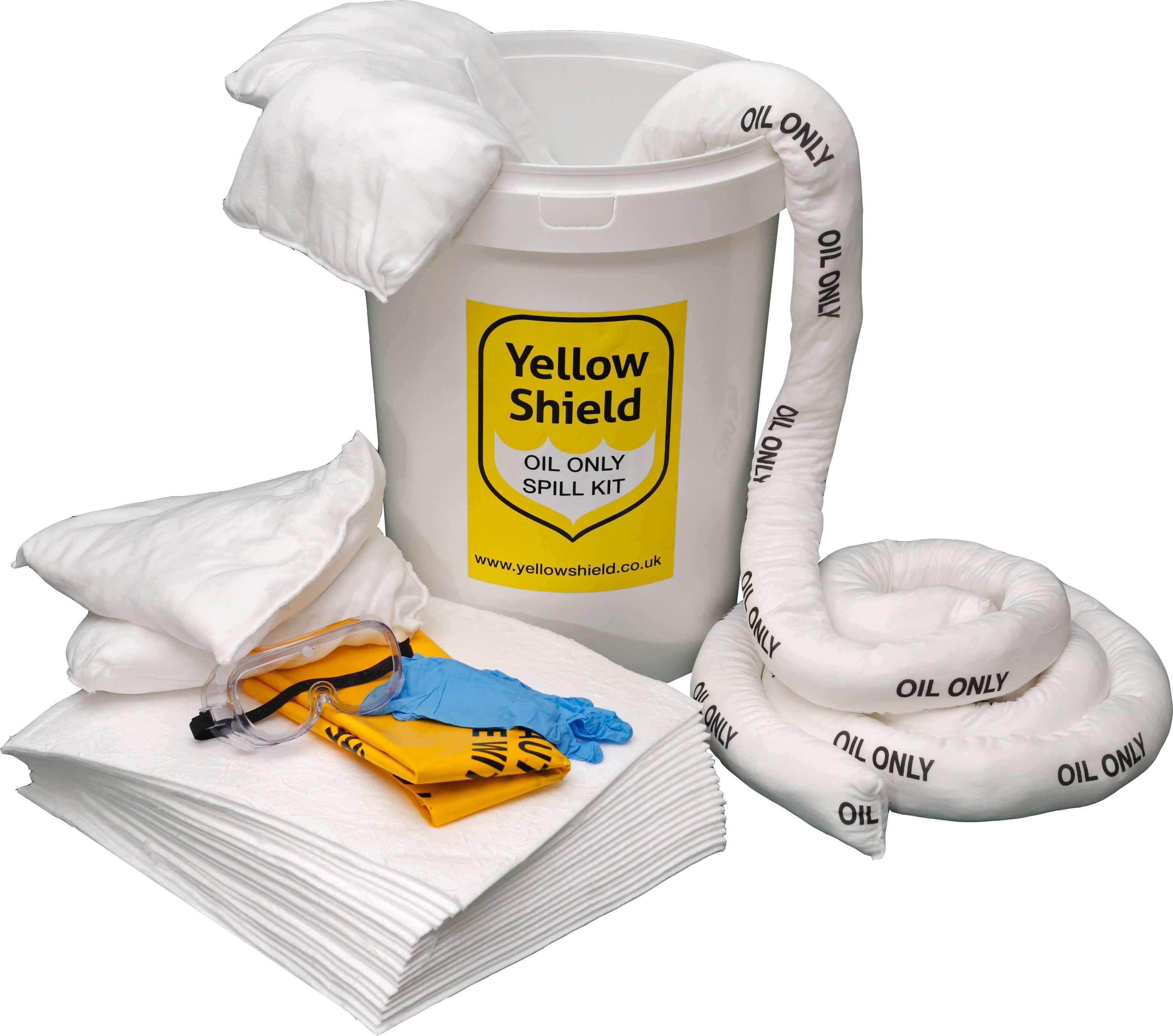 Bucket Oil Spill Kit