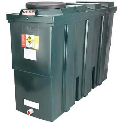 1000 Litre Plastic Oil Storage Tanks (Slimline)