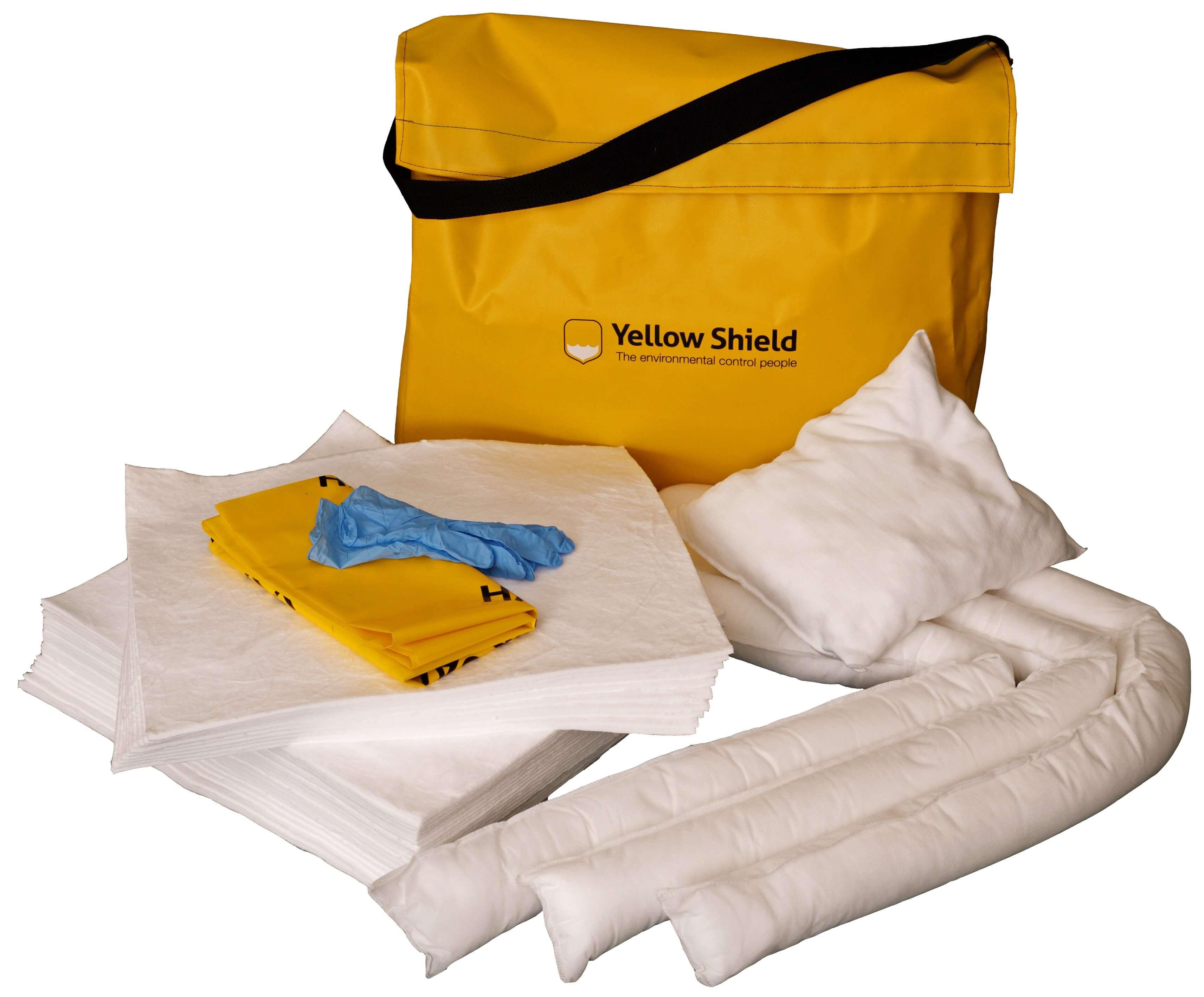 Shoulder bag Oil spill kit