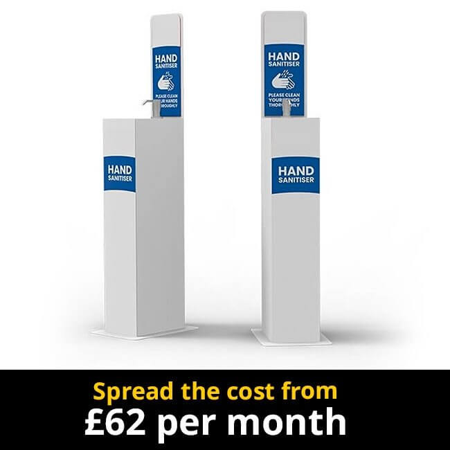 Hand Sanitiser Station Spread the Cost