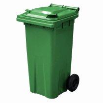 Green 120 Litre Wheelie Bin - Main YS
