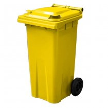 120 Litre Yellow Wheelie Bin - Main YS