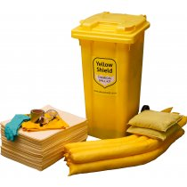 Chemical Wheelie Bin Spill Kit - 125 Litre