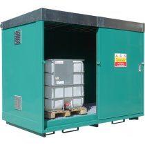 2 x IBC Dual Purpose Storage Unit