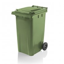 Yellow Shield 240 Litre Wheelie Bin Craemer