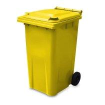 240 Litre Yellow Wheelie Bin from Yellow Shield - Main