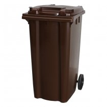 240 Litre Brown Wheelie Bin
