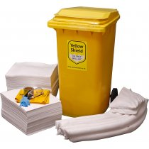 Wheelie Bin Oil Spill Kit - 250 Litre