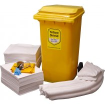Oil Wheelie Bin Spill Kit - 360 Litre