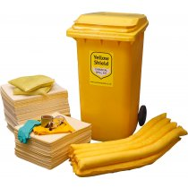 Chemical Wheelie Bin Spill Kit - 360 Litre