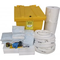 Oil Only Wheeled Locker Spill Kit - 350 Litre