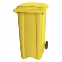 360 Litre Wheelie Bin - Yellow