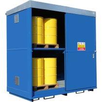 16 x Dual Purpose Drum Storage Unit