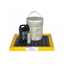 """Poly-Spill Pad With Grate 2'x2'x2"""""""