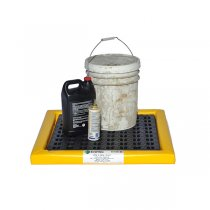"""Poly-Spill Pad With Grate 2'x4'x2"""""""