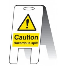 Caution Hazardous Spill A-Frame