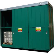 Steel Bunded 8 x IBC Store | Storage