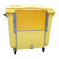 1100 Litre Clinical Waste Bin With Drop Front