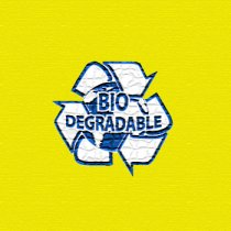 Bio-degradable bags (Yellow)