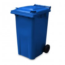 240 Litre Blue Wheelie Bin from Yellow Shield - Main