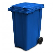 360 Litre Blue Wheelie Bin - main
