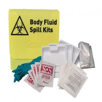 Body Fluid Spill Kit With Box