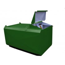 500 litre steel bunded fuel tank