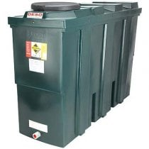 650 Litre Plastic Oil Storage Tanks (Slimline)