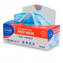 Disposable Face Mask Open Box