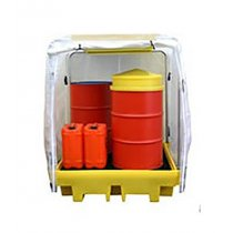 FC4 - 4 Drum Spill Pallet Covered