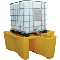 Single IBC Polyethylene Spill Pallet