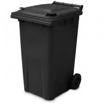 240 Litre Grey Wheelie Bin - Main