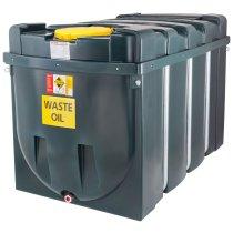2,500 Litre Plastic Bunded Waste Oil Tank