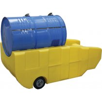 Single 205 Litre Drum Trolley