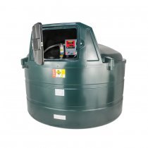 5,000 Litre Plastic Bunded Fuel Tanks (Vertical Low Profile)