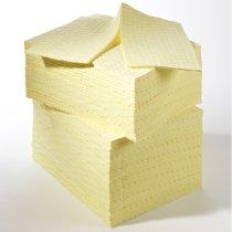 100 Boxed Economy Mediumweight Chemical Pads