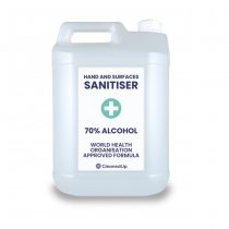 Hand Sanitiser Station Liquid | 5L Pk - 4