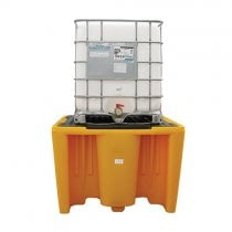 Single IBC Spill Pallet - With Grid
