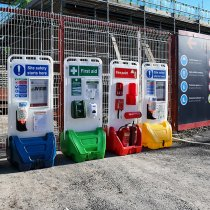 SitePoint Mobile Display Units On Site