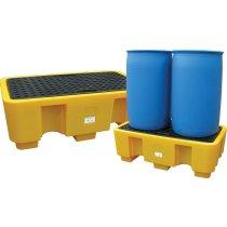 PAL2 - 2 Drum Polyethylene Spill Pallet