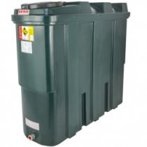 1250 Litre Plastic Oil Storage Tanks (Slimline)