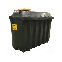 1,250 Litre Plastic Bunded Waste Oil Tank (Slimline)